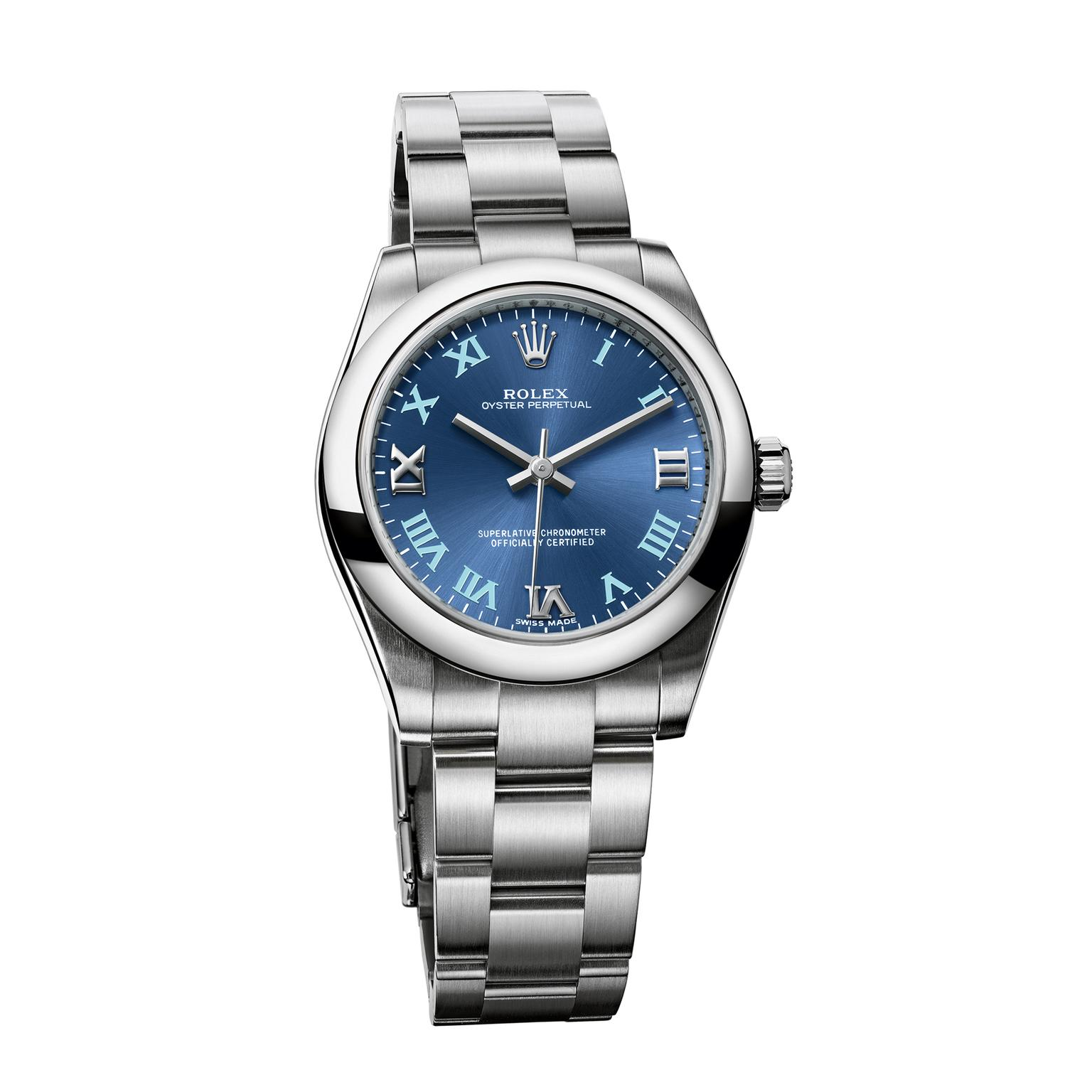 Details about Rolex Oyster Perpetual 177200 Womens Automatic Watch With Box    Papers 31mm 7b939a0781