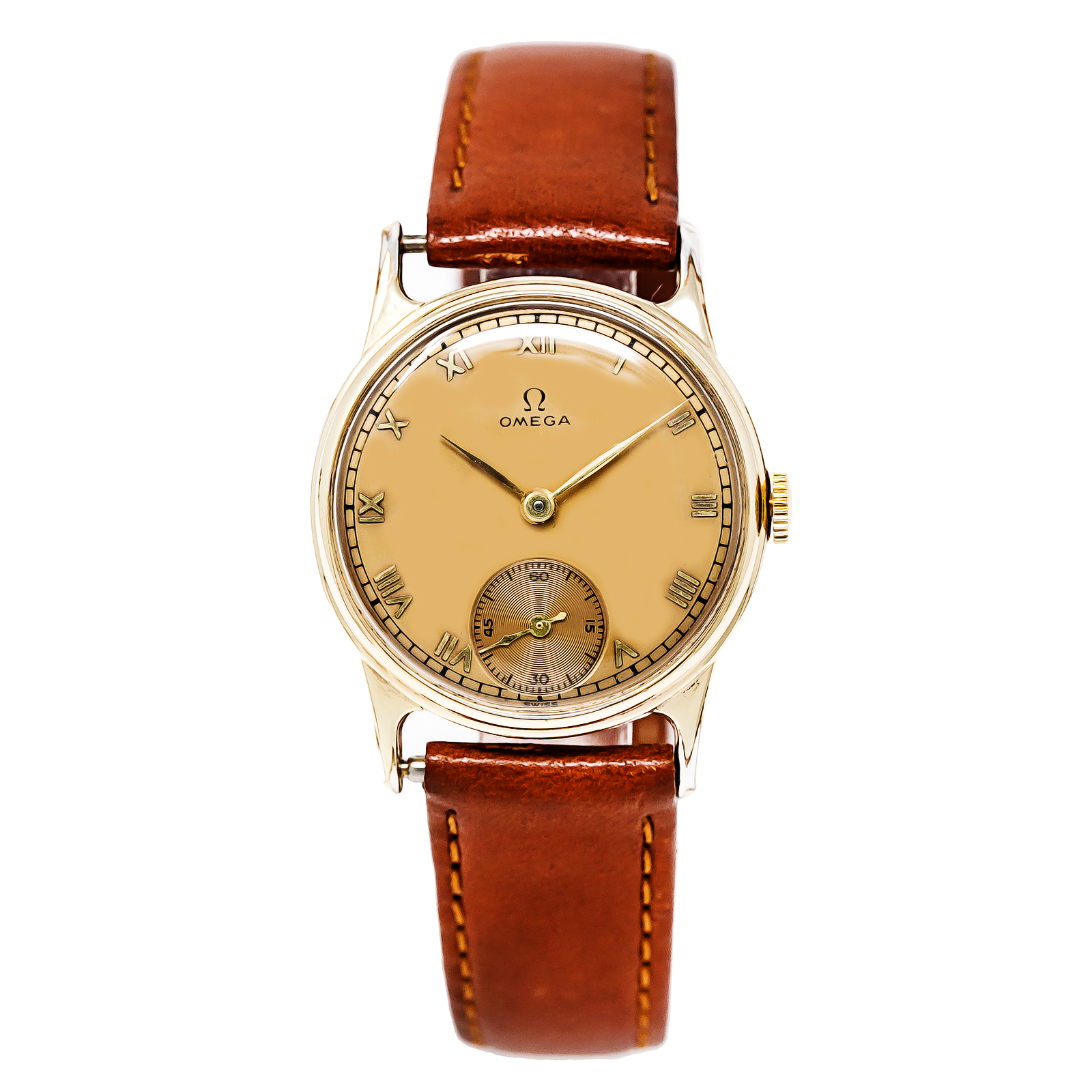 jewel applied inventory for filled and numerals a vintage silver watch features second men arabic store s sale around dial this yellow watches with time caliber hamilton gold movement